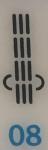 punto elastico dritto