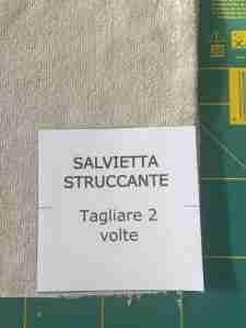 tutorial salviette struccanti 2