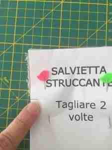 tutorial salviette struccanti 4