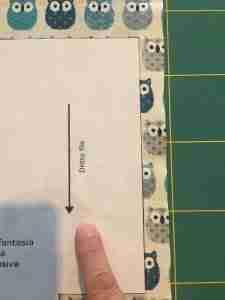 tutorial cestino di stoffa