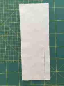 Preparazione al tutorial come cucire una cerniera 4
