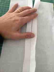 Preparazione al tutorial come cucire una cerniera 7