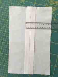 Preoarazione al tutorial come cucire una cerniera 9