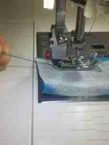 Scrunchie tutorial 10