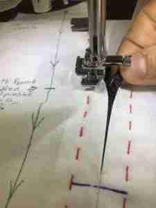 Tutorial come cucire una cerniera 15