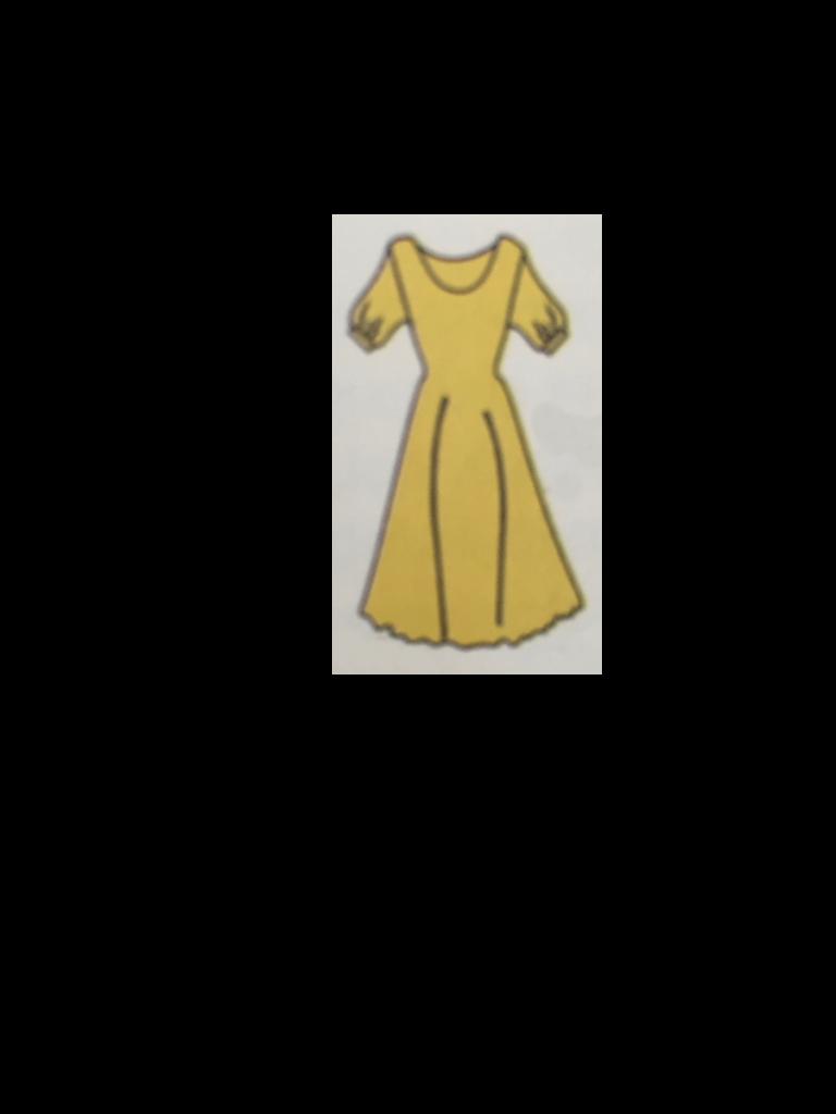 Vestito fanstasia maniche corte