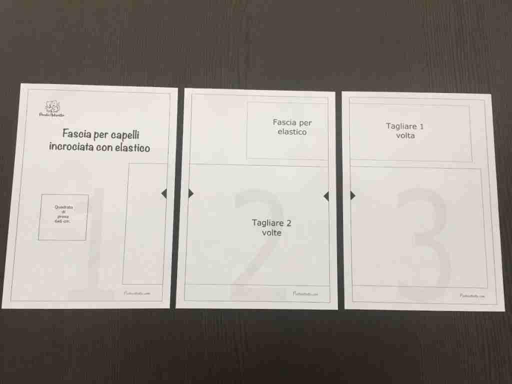 Come assemblare un cartamodello pdf