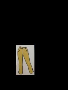 Pantaloni alla corsara