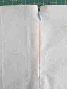 Tutorial come cucire una cerniera invisibile 24