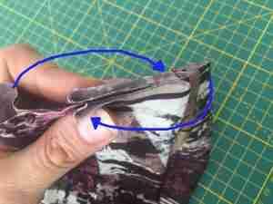 Tutorial come confezionare una fascia turbante in 2 cuciture 15