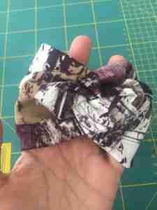 Tutorial come confezionare una fascia turbante in 2 cuciture 22