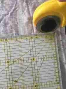Tutorial come confezionare una fascia turbante in 2 cuciture 3
