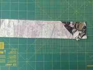 Tutorial come confezionare una fascia turbante in 2 cuciture 5