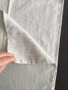 Tutorial per cuciru una federa per cuscino con cerniera 2
