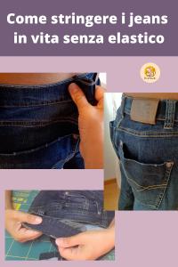Come stringere i jeans in vita