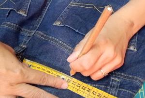 Come stringere i jeans in vita 25