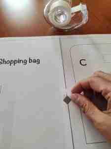 cartamodello shopping bag 5